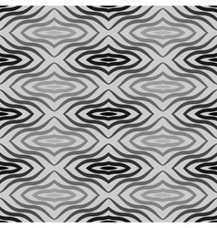 Op art black white seamless geometric pattern some vector