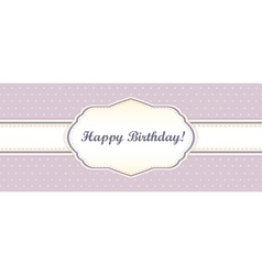 shabby chic card design provence style vector image