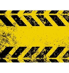 Worn hazard stripes vector