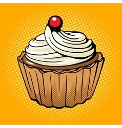 Cake pop art style vector image vector image