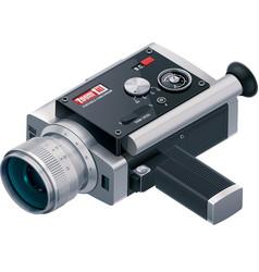 retro camcorder icon vector image vector image