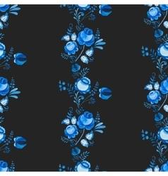 Russian gzhel pattern vector image