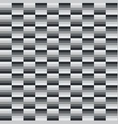 abstract geometrical black and white pattern vector image