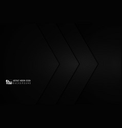 abstract gradient black template design vector image