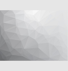 Abstract triangular gray stone background vector