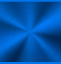 blue metal technology background vector image