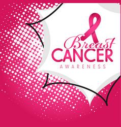 Breast cancer awareness banner 08 vector