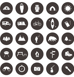 CampingIcons1 vector image