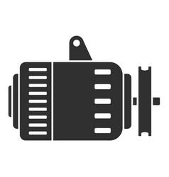 car alternator icon simple style vector image