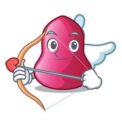 cupid sponge makeuop in the cartoon form vector image