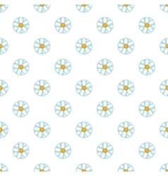 Daisy pattern cartoon style vector image