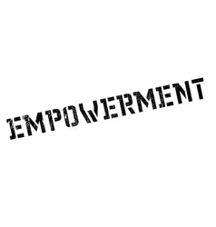 Empowerment rubber stamp vector