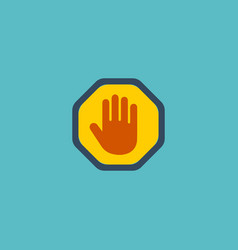 Flat icon palm element of vector