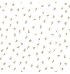 gold stars on white background vector image