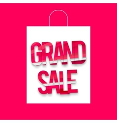 Grand sale package vector