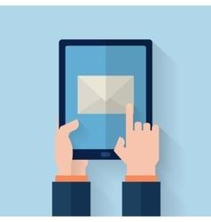 Hand held computer gadget vector