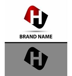 Logo h letter vector