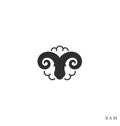 Ram logo vector
