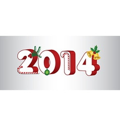 2014 holiday vector image vector image