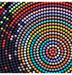 Abstract mosaic 2 vector image