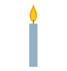 candle symbol isolated vector image