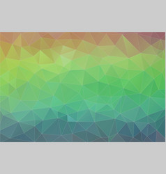 Flat retro triangle background colorful mosaic vector