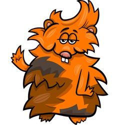 Funny guinea pig cartoon vector