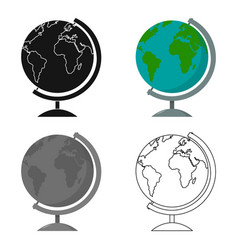 Gobe icon cartoon single education icon from the vector
