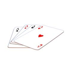 Icon card play vector