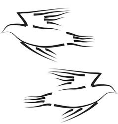 Peace dove concept vector