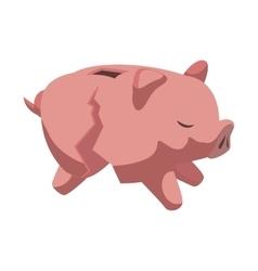 Piggy icon Money design graphic vector
