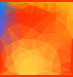 modern polygonal style bright background vector image