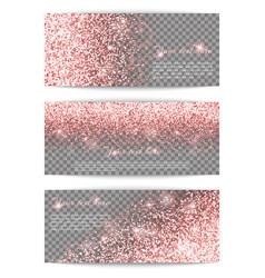 Luminous pink background vector