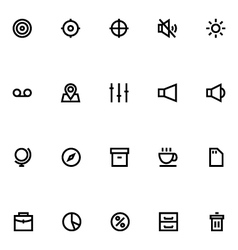 Apple Watch Icons 6 vector