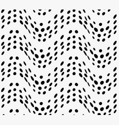 Black marker dotted waves vector