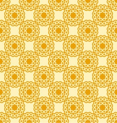 circles seamless Sunny palette vector image