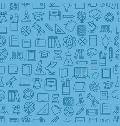 different network app icons seamless pattern back vector image