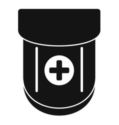 Medical pocket icon simple style vector