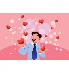 my valentine vector image