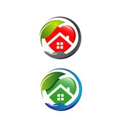 Nursing home logo design home care elderly logo vector