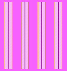 Pink princess color striped seamless pattern vector