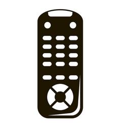 tv remote control icon simple style vector image