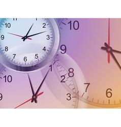 clock background2 vector image