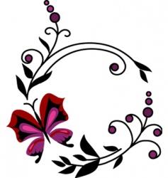 filigree elements vector image vector image