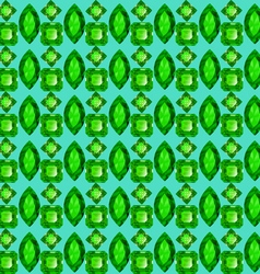 seamless background with geometric patterns vector image vector image