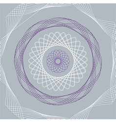 spirograph vector image