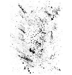 Abstract Background with black blots and ink vector image vector image
