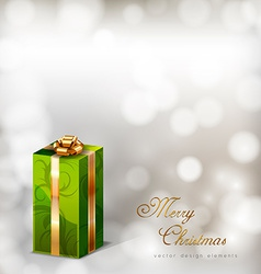 Green Gifts vector image vector image