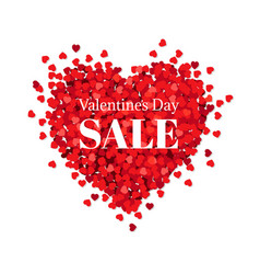 banner valentines day sale vector image