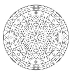 Black and white page for coloring book fantasy vector